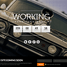 Working - HTML5 Responsive Under Construction Website Template