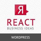 React - Responsive Wordpress Theme
