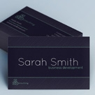 Creative Minimal Business Card - Consulting