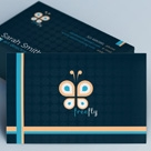 Creative Stylish Business Card - Freefly