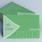 Creative Minimal Business Card - Ecology