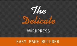 The Delicate - Multi-Purpose WordPress Theme