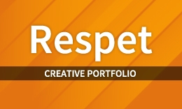 Respect – Creative Parallax Portfolio