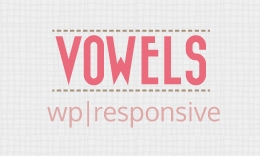 Vowels - Retina WordPress Theme