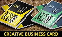 Creative Business Card 1