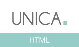 Unica - Minimal Responsive HTML5 Template