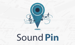 SoundPin Logo Design