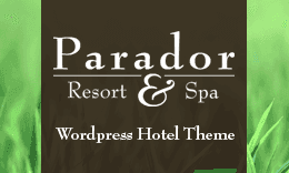 Parador - Responsive WordPress Resort & Guesthouse Theme