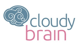 Cloudy Brain Logo Template
