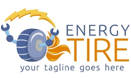 Energy Tire Logo Template