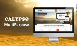 Calypso - MultiPurpose Bootstrap Template