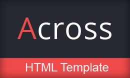 Aross - Responsive One Page HTML Template