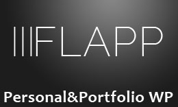 Flapp - Personal Portfolio & Photography WordPress Theme