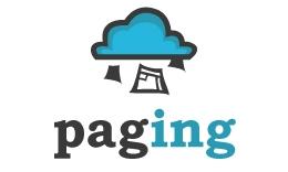 Paging Logo Design