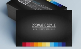 Creative Minimal Business Card - Chromatic