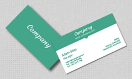 Company - Bicolor Multipurpose Business Card