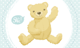 Child Care Business Card - Mr Teddy