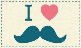 John Mustache Business Card