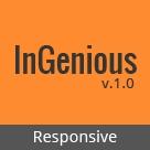 Ingenious - Responsive HTML Template