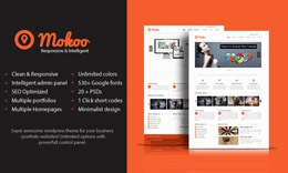 Mokoo WordPress Theme