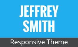 Jeffrey Smith - Responsive Tumblr Theme